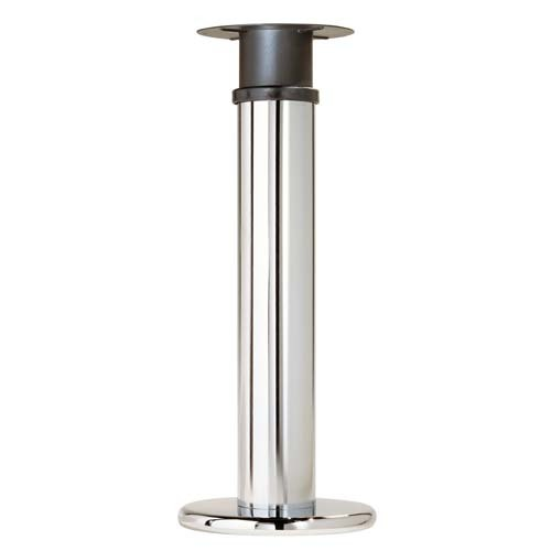 Pied peninsule acier chrome brillant cuisinesr ngementsbains - Pied table reglable ...